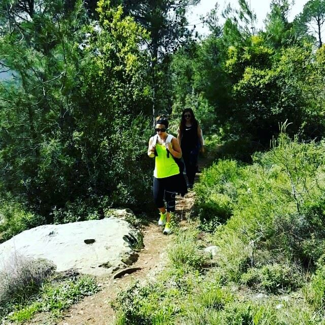 hiking beitmery lebanon green culture backpacking travel ... (Beit Meri, Mont-Liban, Lebanon)