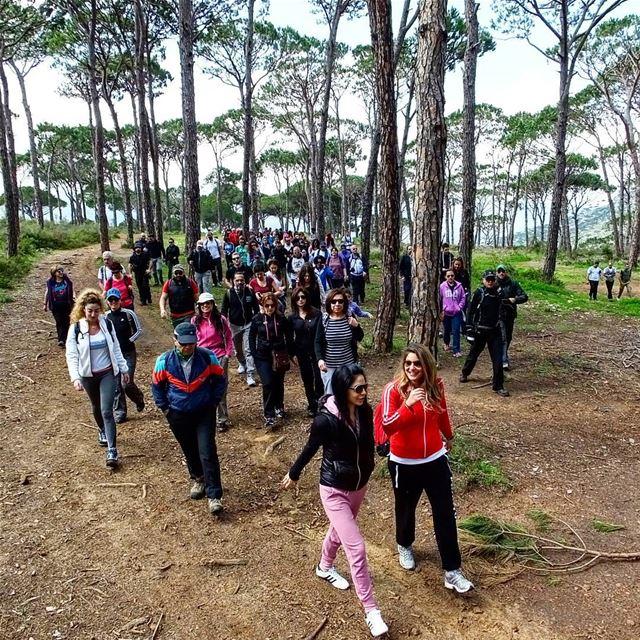 hiking deirelharf lebanon green culture backpacking travel outdoor... (Deir El Harf)