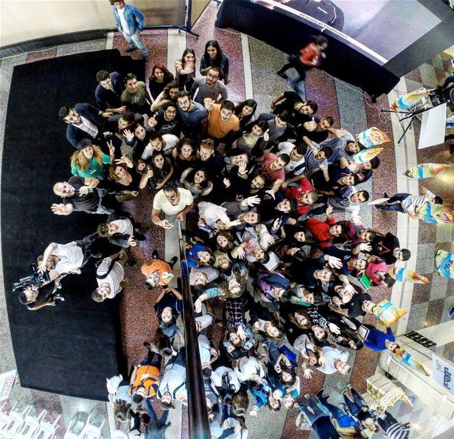 NDU university students event group selfie team bonding Lebanon ... (Notre Dame University – Louaize)