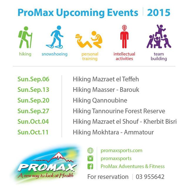 promaxsports lebanon  events  upcomingevents  outdoors  hiking  hike ...