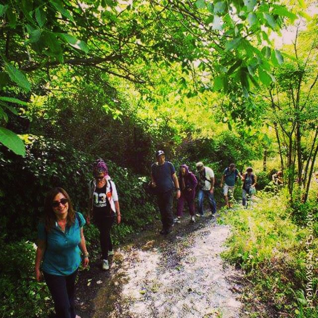 hiking DeirElQamar green culture trekking travel adventure Lebanon...