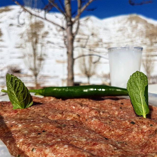 The perfect getaway! faraya snow raw kebbeh arak lebanon cheatmeal ...