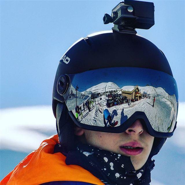 reflection 270 ° Lebanon faraya ski family ig_lebanon super_lebanon... (Faraya, Mont-Liban, Lebanon)