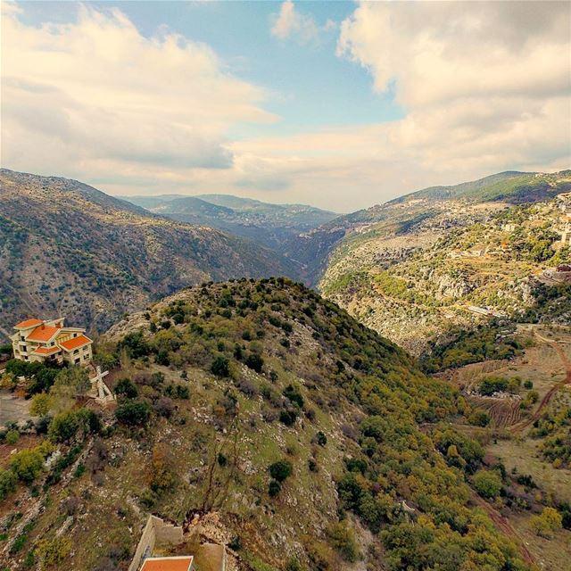 Lebanon super_lebanon baskenta ig_lebanon aerialphotography aerial ... (Baskinta, Lebanon)