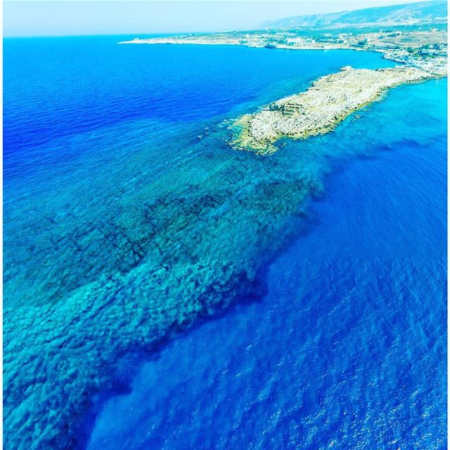 The underwater landscape of Anfeh ... Lebanon  anfeh  ig_lebanon ... (Ta7t El Ri7 - Anfeh)