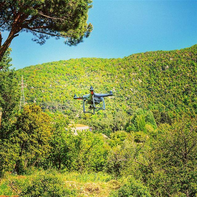 Phantom3 low altitude ... Lebanon drone aerialphotography ... (Aramoun Keserwan)