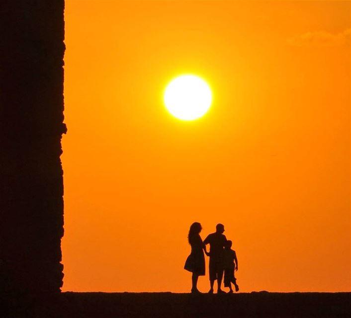 lebanon family sunset nikonphotography byblos jbeil warm ... (Byblos - Jbeil)