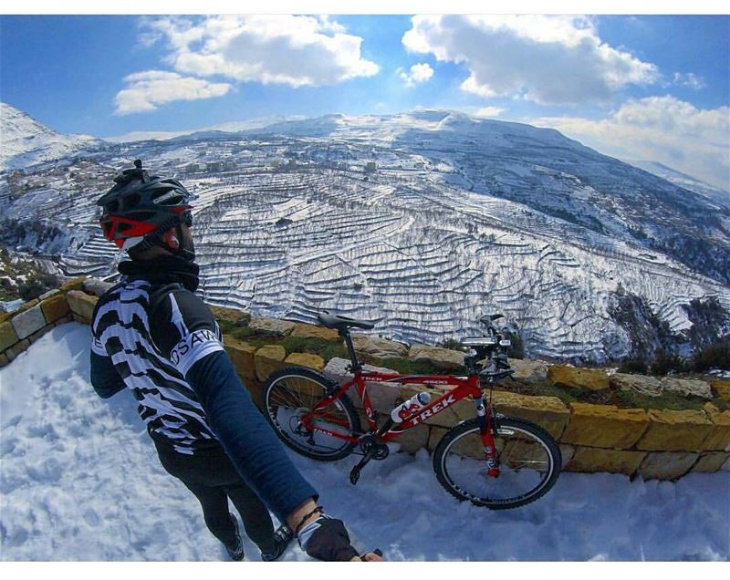 """""""The fool didn't know it was possible, so he did it."""" liveloveehden ... (Ehden, Lebanon)"""