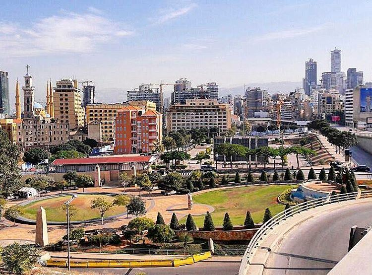 Just ❤❤❤ goodnight park photography picoftheday beautifulday ... (Downtown, Beirut, Lebanon)