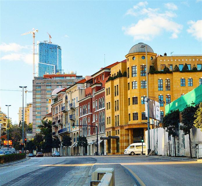 photography  photoofday  saifi  downtownbeirut  buildings  road ...