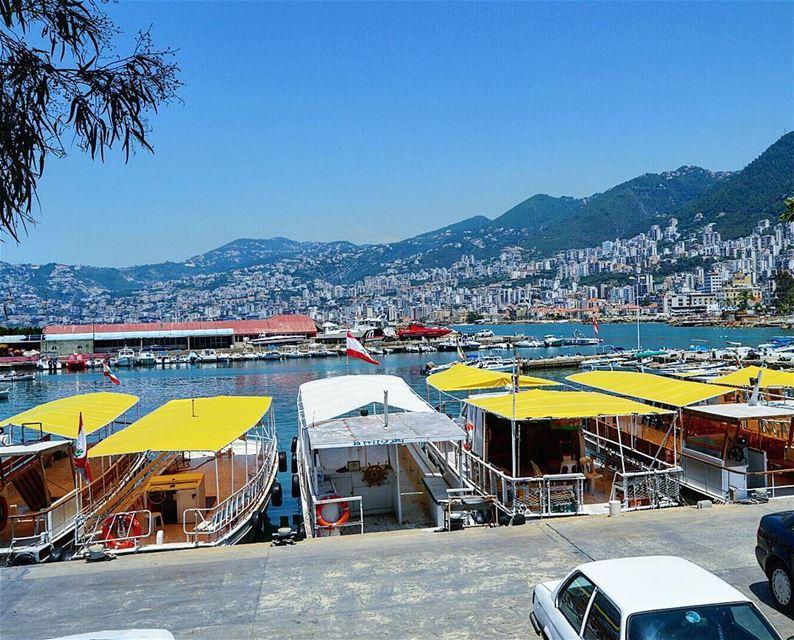 Jounieh port roaming port boat summertime jouniehbay adventure ...