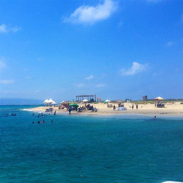 White sand island island summerinlebanon northlebanon tripoli ...