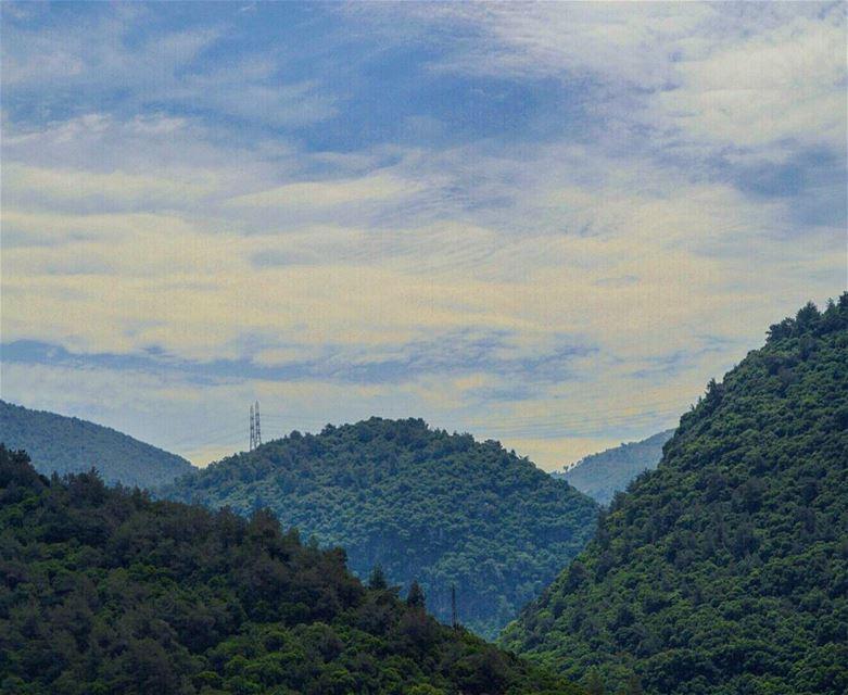 Somewhere in lebanon mountains greentrees lebanonvalley ...