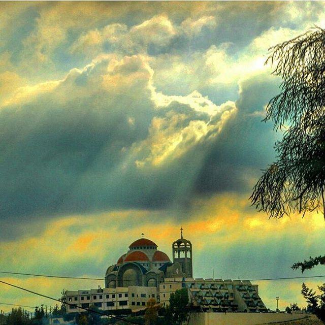 Frm north lebanon church religion church christian cloudy sunrays ...