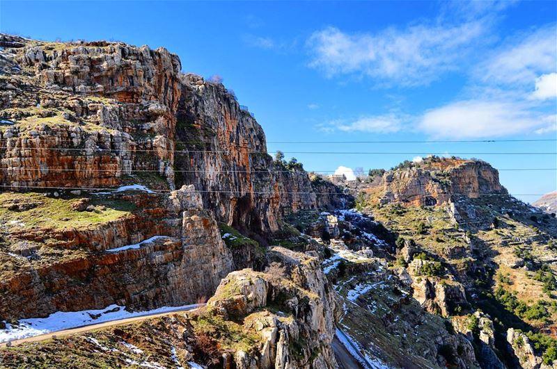 From the valley of qadisha rockymountain holyvalley valley ...
