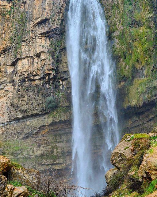 Pride of jezzine waterfall jezzine water coldseason giftofnature ...