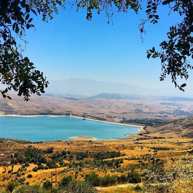 Qaraoun is the biggest artificial lake in lebanon qaraoun qaraounlake ...