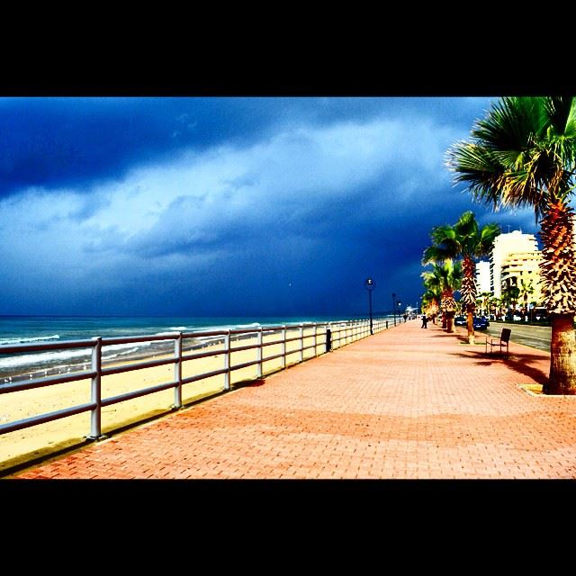 Goodmorning  saida  lebanon  saidabeach  cloudy  pathway  walking ...