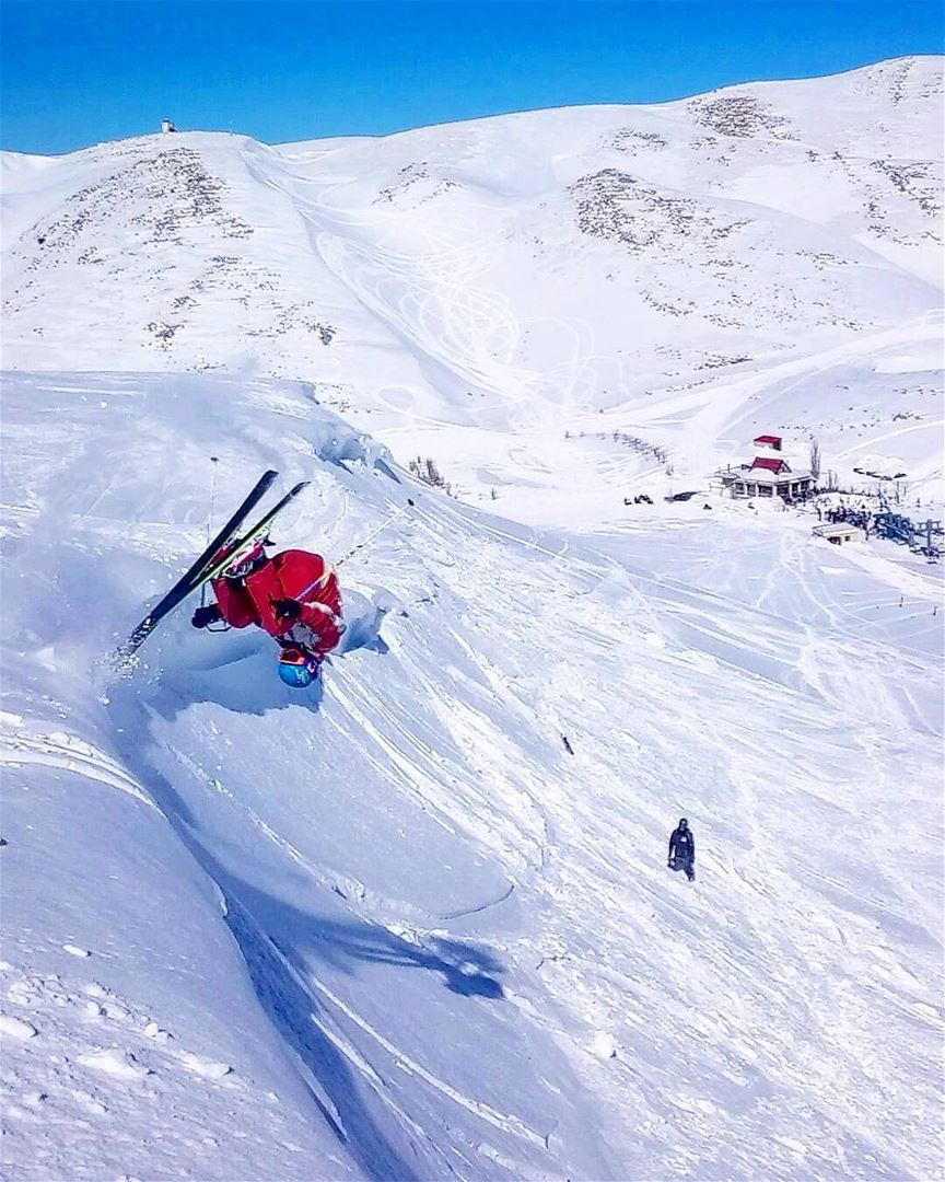 Normal is for people without any courage faraya farayalovers frontflip ... (Faraya)