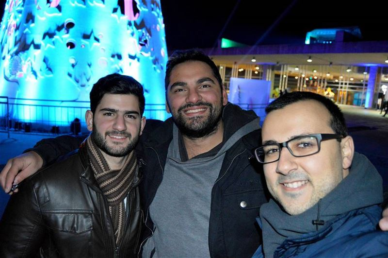 With my best friends and Brothers! royalkhoury tripoli lebanon ... (Rachid Karami International Fair)