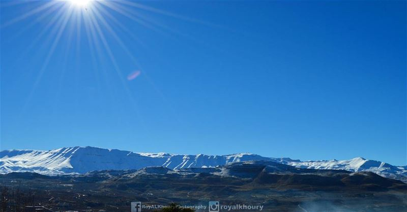 Today Morning Ehden, where the sky is near! RoyALKhouryPhotography ...