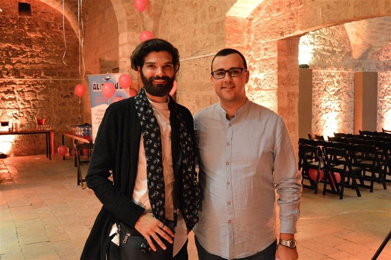 With @mikemassy at @sevinemusic album signing & launching ... (Crypte De L'église Saint Joseph)
