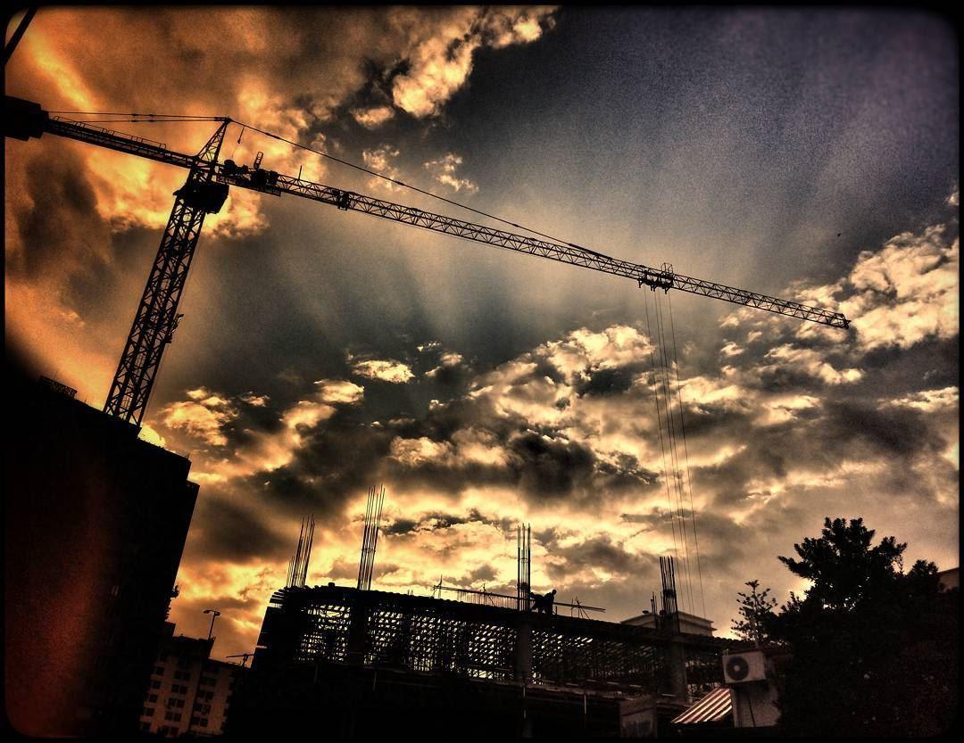 achrafieh beirut beirutcity lebanon sky sunset clouds sunrays ... (Achrafieh, Lebanon)