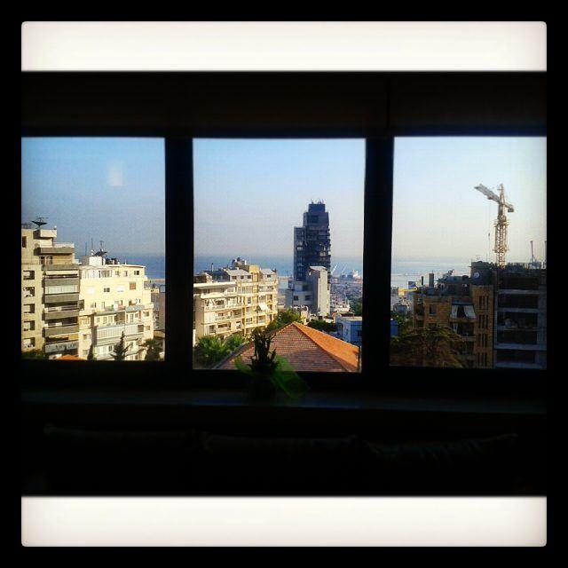 goodmorning from beirut livelovebeirut livelovelebanon ... (Achrafieh)