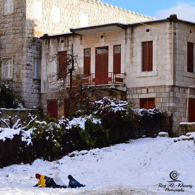 snow ehden ehdenforever kids lebanonhouses beautifullebanon ...