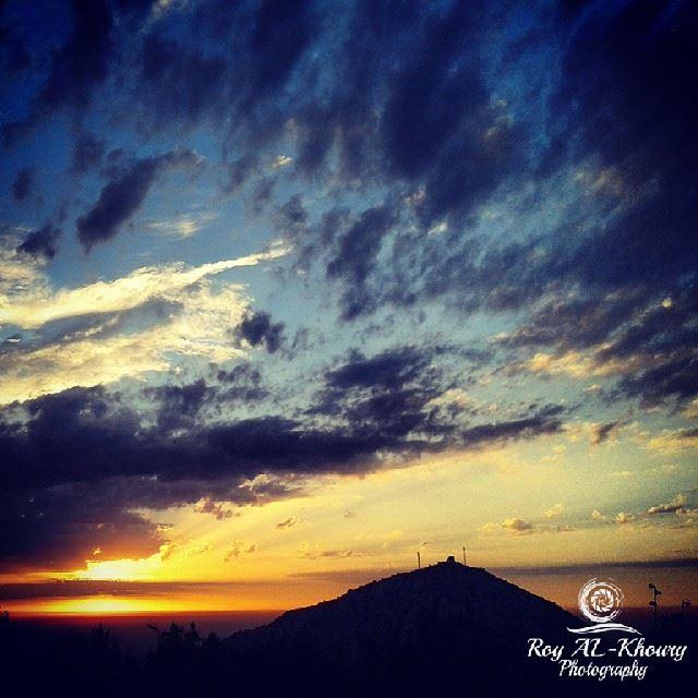 ehden ehdenspirit ehdenforever sky blue_sky nature sunset sun ...