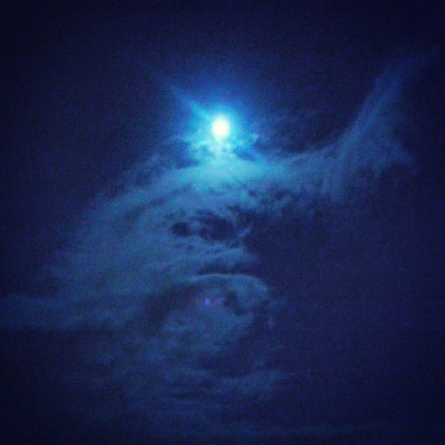 The art of the sky sky north_lebanon night nature nightsky moon ...