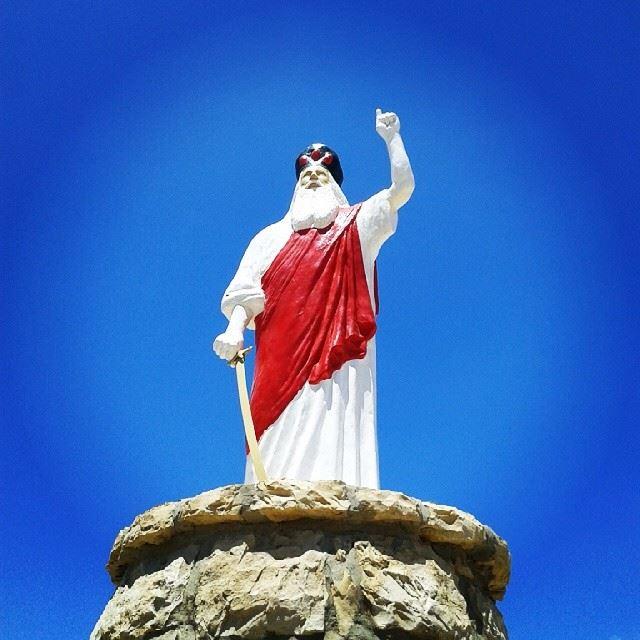 jesus st.elie lebanon north_lebanon sky lebanese_sky blue_sky ...