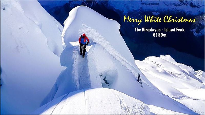 Merry Christmas & Happy Holidays christmas time greetings from ... (Himalayas)