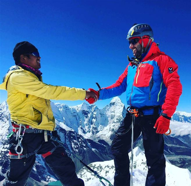END OF THE ROPEMountains don't care if you LIVE or you DIE....But friends... (The Himalayas)