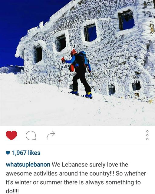 Thank you @whatsuplebanon for advertising my photo.@livelove.sports @live