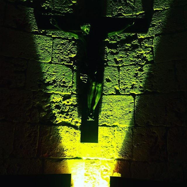 Light up my way GOD Jesus Christ Savior Cross Church light ... (Byblos - Jbeil)