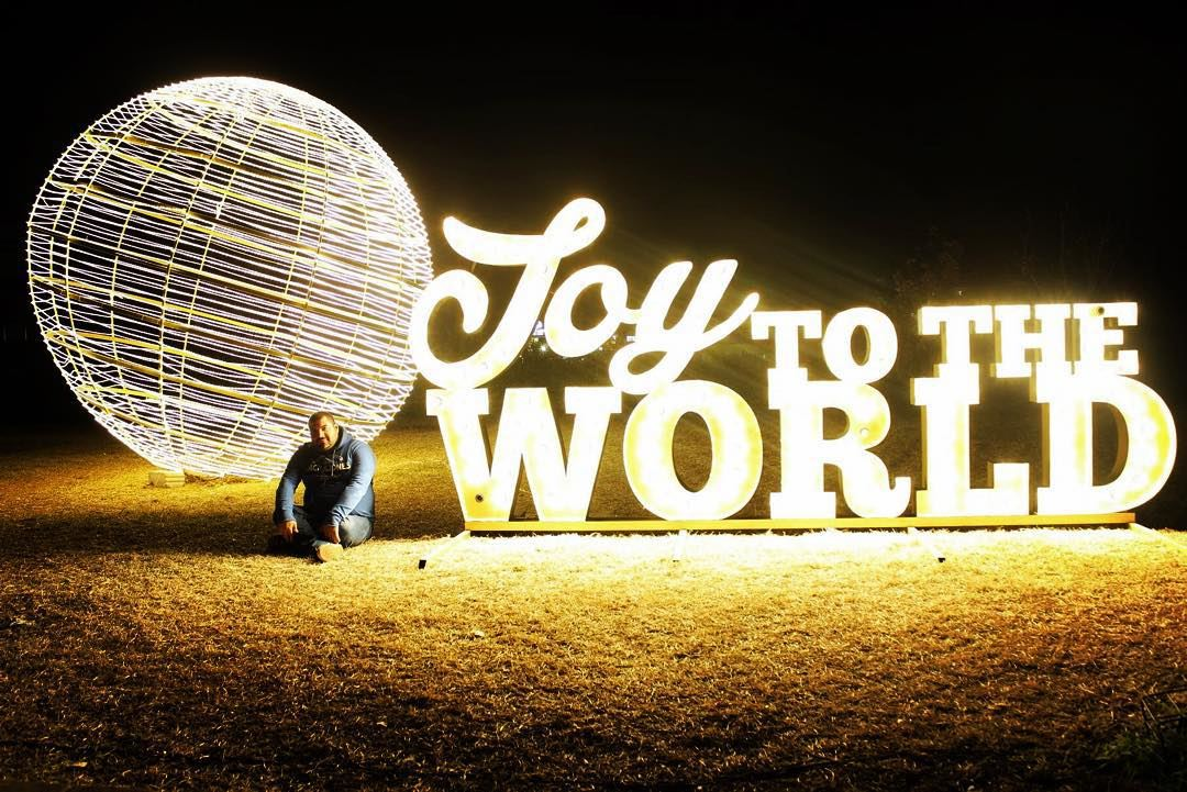 me myself Christmas spirit time joy world Byblos Lebanon...