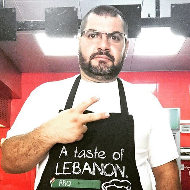 me myself selfie abou ja2ra chef cooking taste kitchen Lebanon...