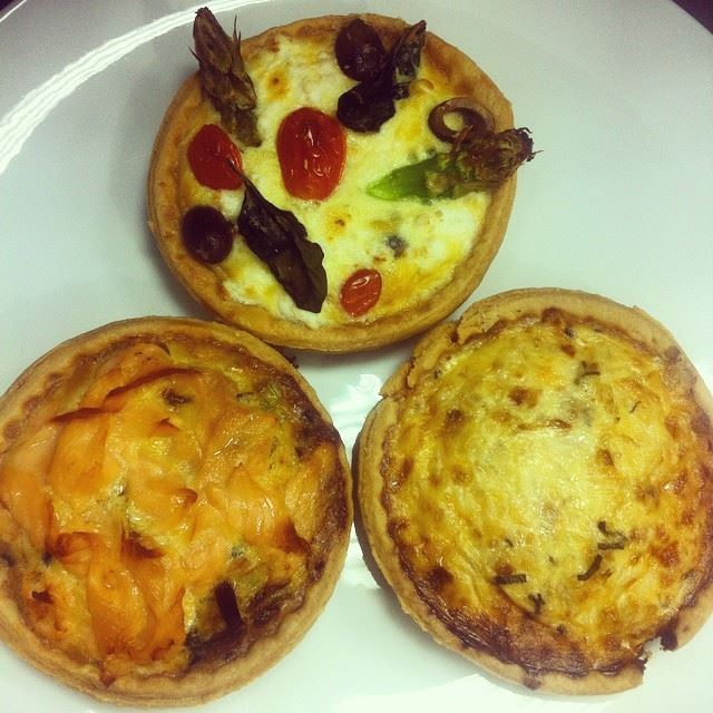 let's eat quiches tasty freshly baked delicious food jefinor hamra...