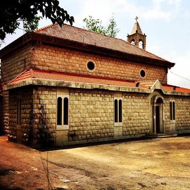 lovely old church daraya Lebanon...