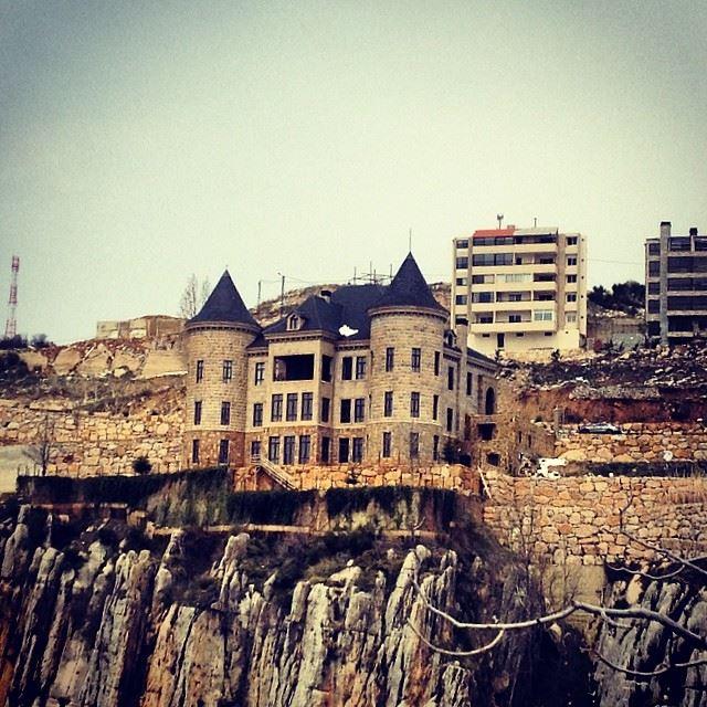gargamel castle faraya nature rock keserwen Lebanon...