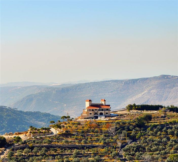 A place where u could escape the city and dive into the tranquil... (Chouf)