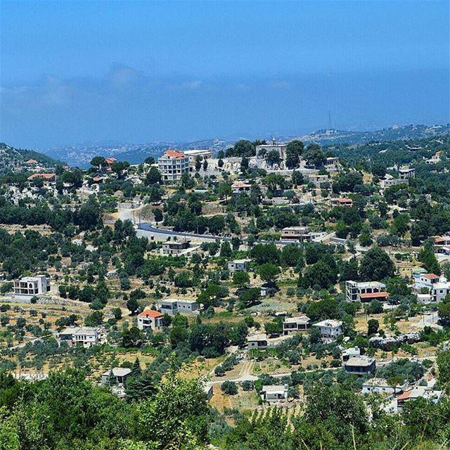Good mornng lebanon somewhereinlebanon village houses morningpost ...