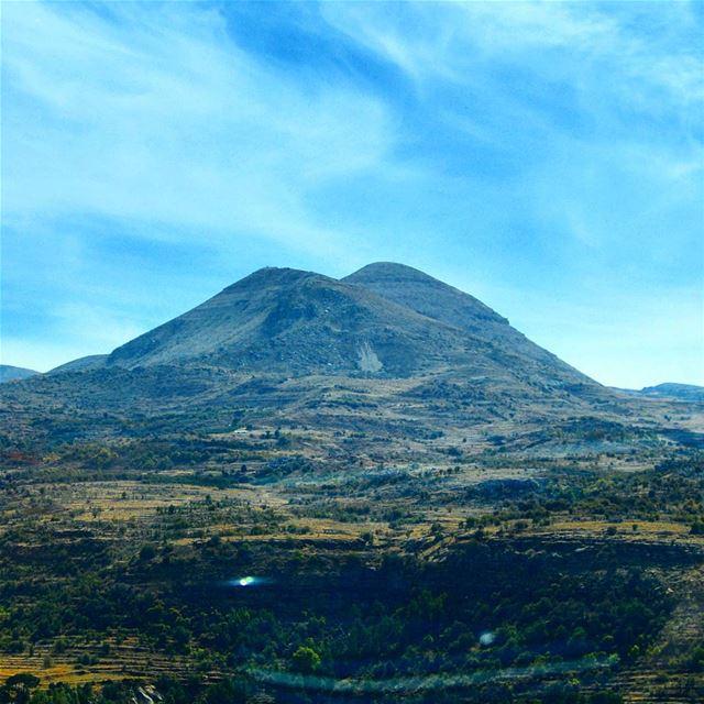 The mountains of lebanon mountain mountaintomountain mountaintop ...