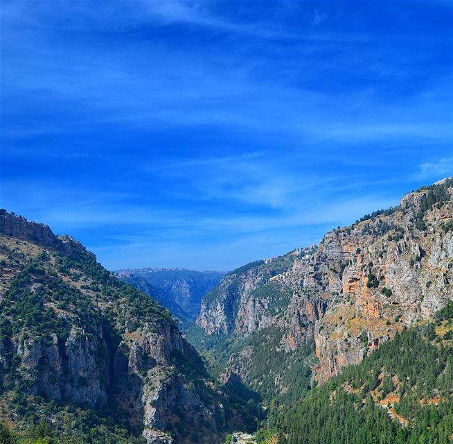 The holy valley of lebanon qadishavalley holy valley mountains...