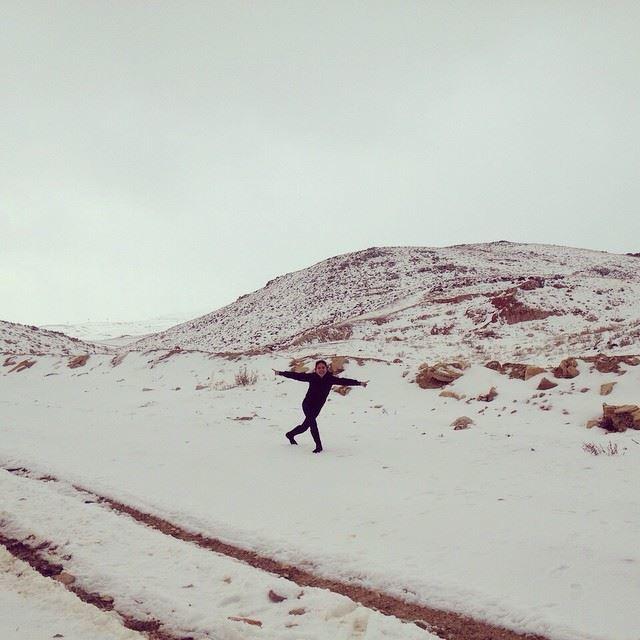 yesterday at kfardebian autumn winter snow mountlebanon mountain ...