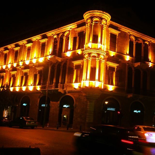 While  walking here n  downtownbeirut  beirutsouk nightview iphoneonly ...
