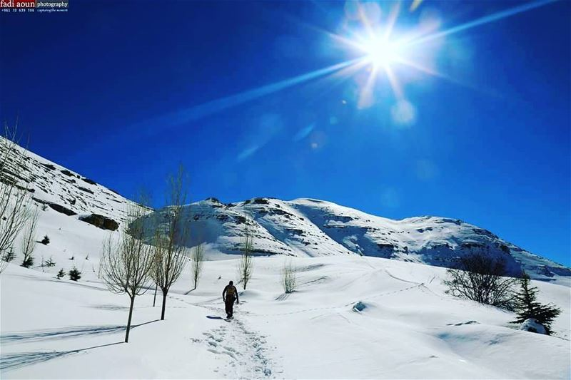 photo fadiaounphotography snowshoeing lebanon photoday photoinsta ...