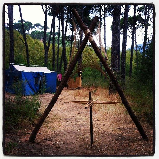 camp scouts Ain z7alta Lebanon...