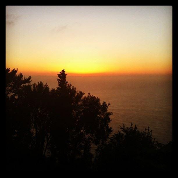 sunset harissa lebanon...